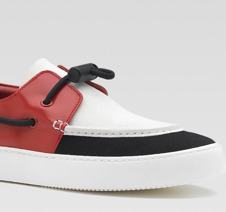 Footwear:  Gucci Boat shoe