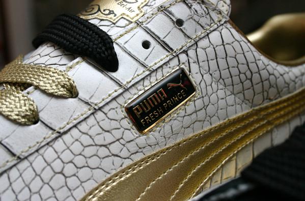 Footwear:  A little Puma action!