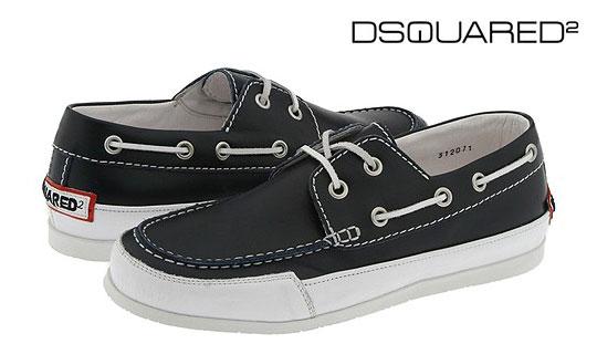 Footwear:  Dsquared2