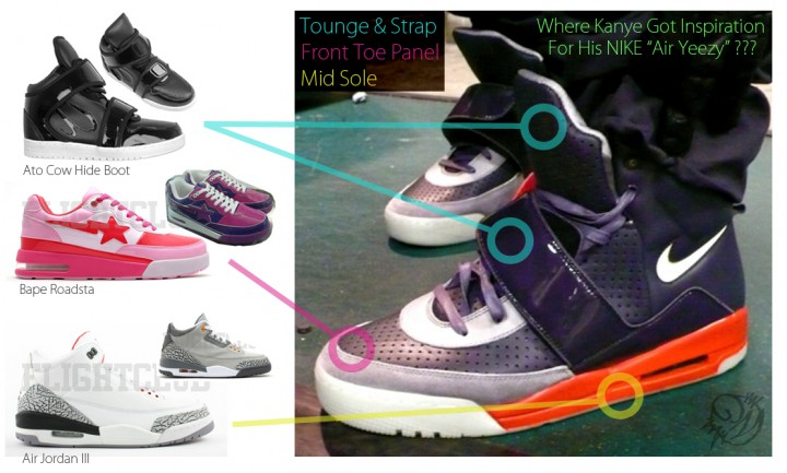Footwear:  Air Yeezy update!!