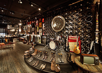 Retail: John Varvatos redoes CBGB