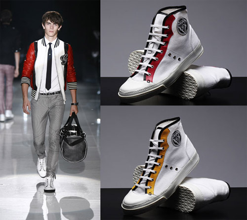 Footwear:  Gucci high tops