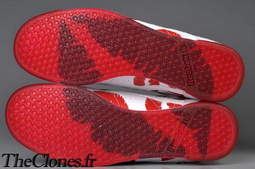 Footwear:  Reebok for the ladies