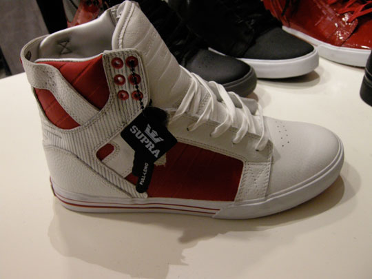 Footwear:  Supra Action Fall 08!