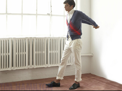 Clothing: Tim Hamilton