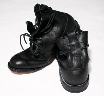 Footwear:  W + H =Wings and Horns
