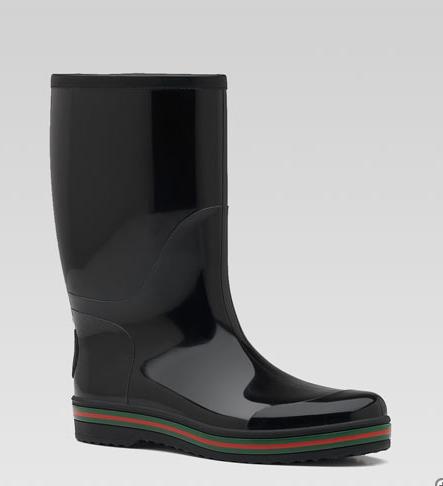 Footwear: Gucci Rain Boots