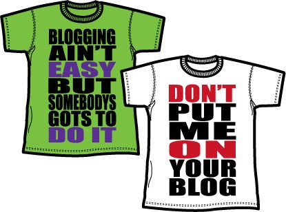 Clothing: Blog tees by Marcus Troy