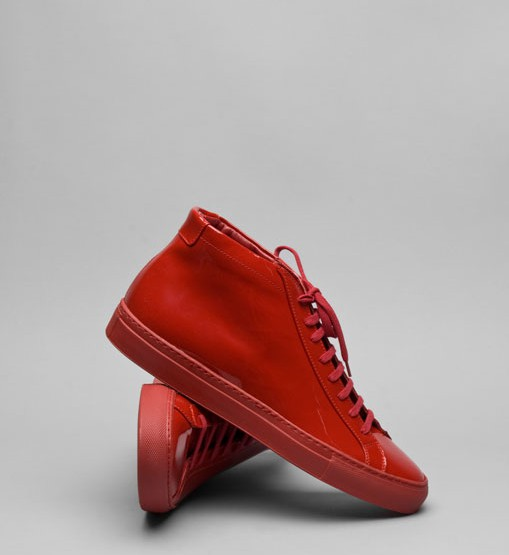 Footwear: Common Projects Achilles Red Patent Leather Fall 08