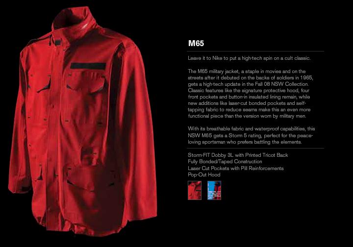 Clothing: Nike M-65 Tech Pack Jacket