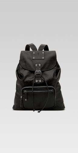 Accessories: Gucci Back Pack