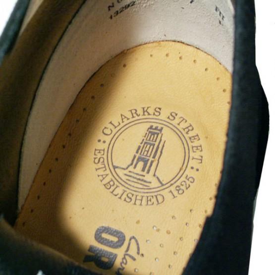 Footwear: Clarks Desert Boots