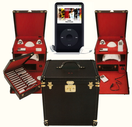 Coolhunts: Karl Lagerfeld's Bespoke Vuitton iPod Trunk