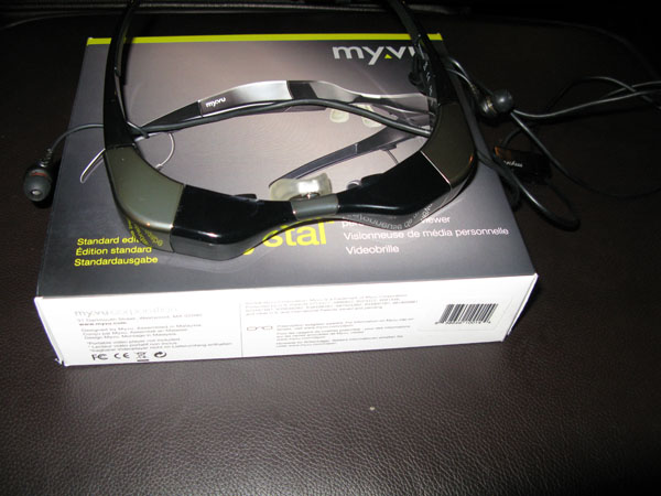 My Life: MyVu personal viewer glasses