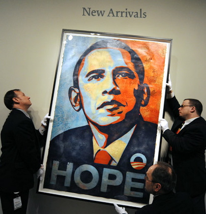 News: The mystery of Obama Poster Solved