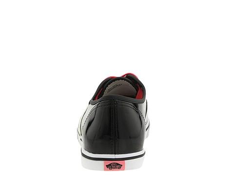 Footwear: Vans Authentics Lo Pro Patent Leather