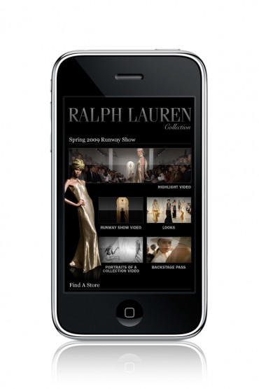 News: Ralph Lauren – iPhone App
