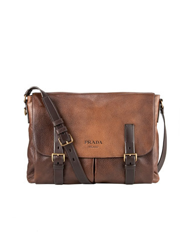 Accessories: Prada Messenger Bag