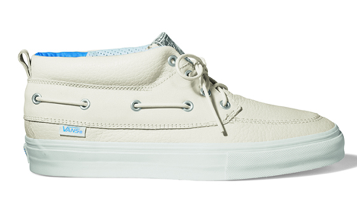 Footwear: * Exclusive look at the Vans Fall 09 Vault Chukka Del Barco