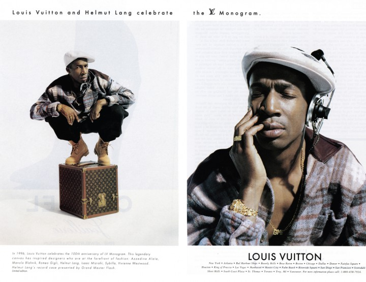 People: Grand Master Flash x Helmut Lang x Louis Vuitton (1996)