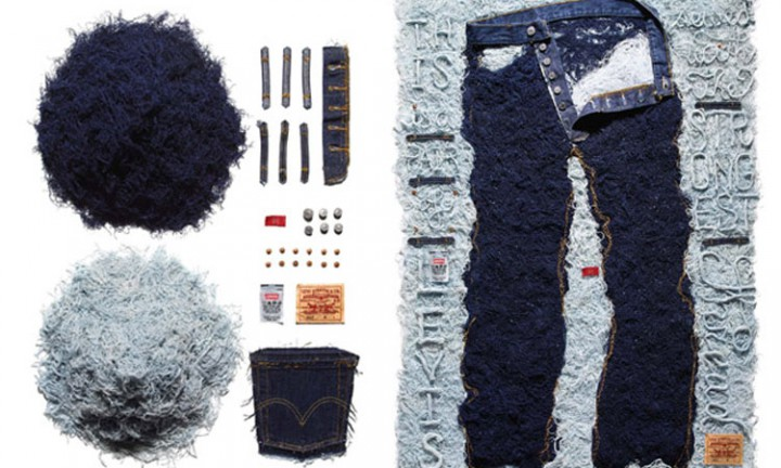 News: Sagmesiter x Levi's 501 Art Installation for American Rag
