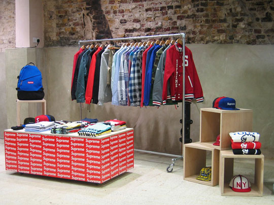 Retail: Supreme Space At Dover Street