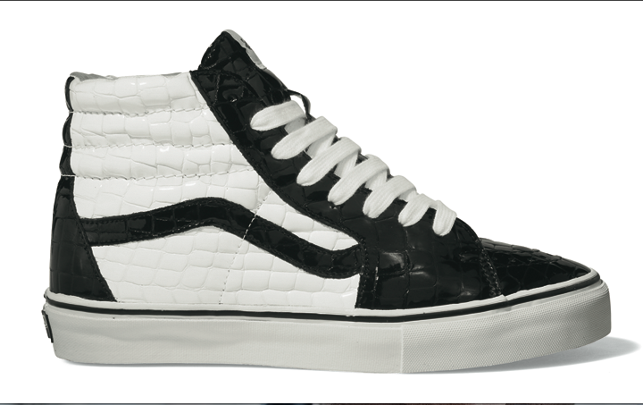 Footwear: *Exclusive Vans Vault Sk8 Hi LX Fall 2009
