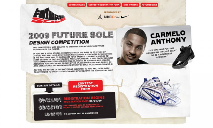 News: 2009 Future Sole Design Competition