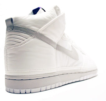 Footwear: Nike Dunk High- Nylon White