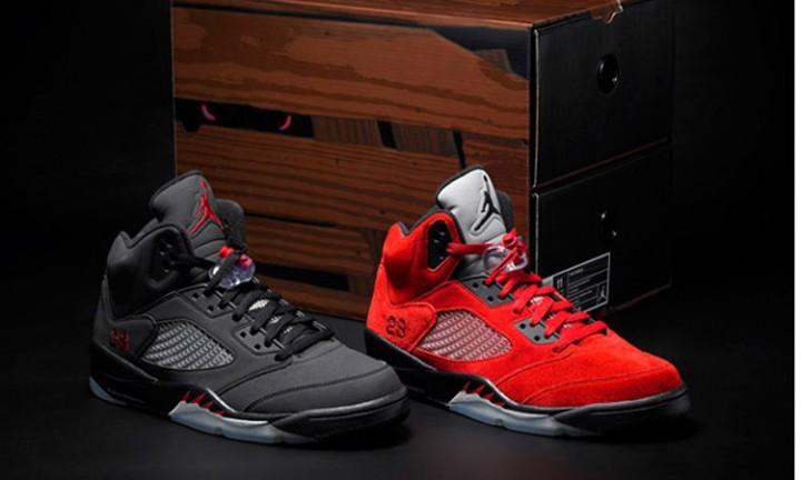 "Footwear: Air Jordan 5 ""Toro Bravo"" Pack"