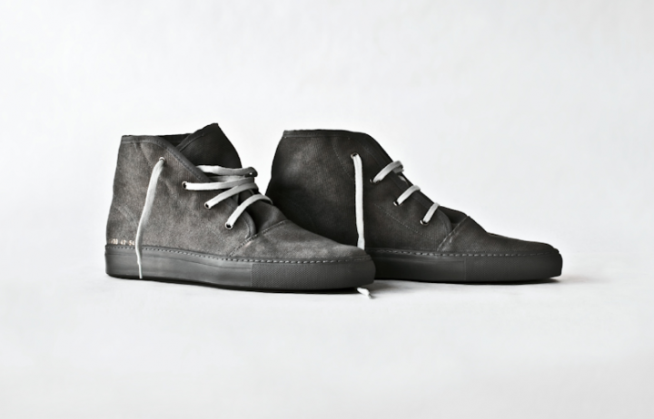Footwear: Common Projects Canvas Safari Boot