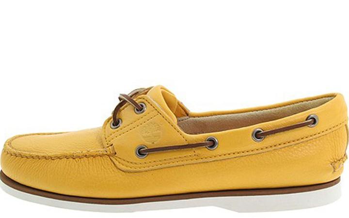 Footwear: Timberland Classic Boat 2 Eye
