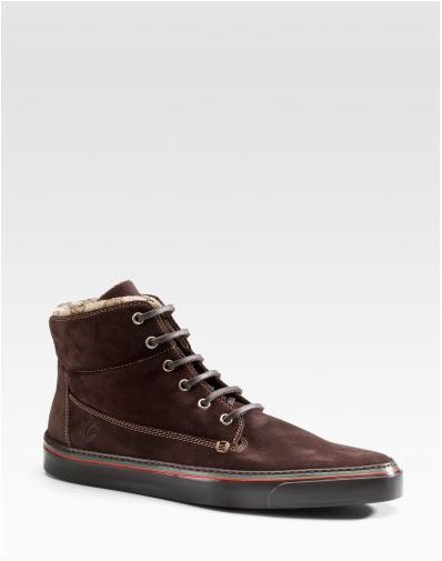 Gucci laceup desert boot