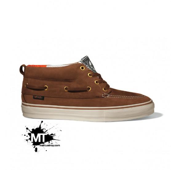 Footwear: *Exclusive- Vans Vault Holiday 09-Del Barco LX