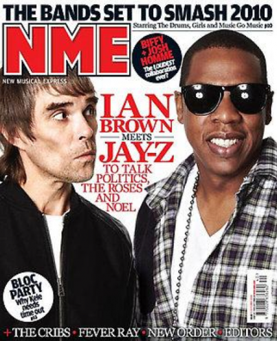 nme magazine cover. People: Jay-Z Covers NME