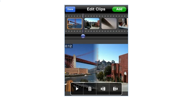 News: Reel Director = Video Editing App for the iPhone 3GS