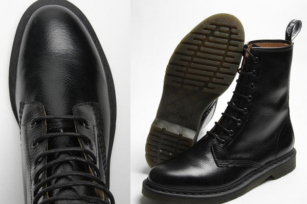Footwear: Raf Simons & Dr Martens 8 Hole Boot