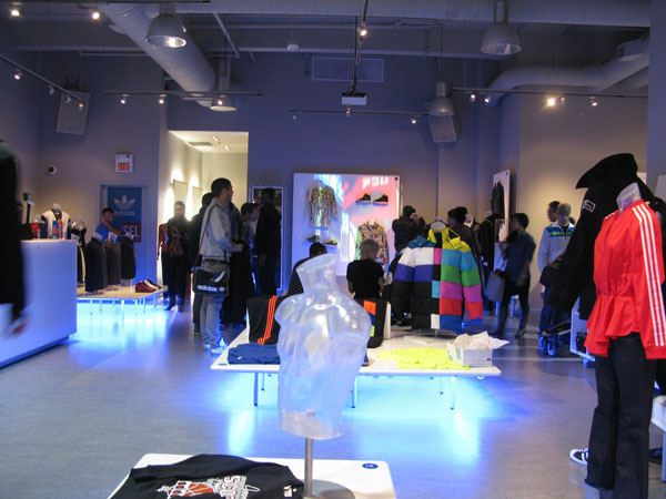 Adidas product launch event MOntreal 7