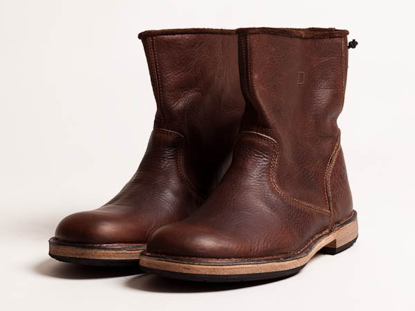 Footwear: Rokin Legion Rain Brown Leather Boot | Marcus Troy