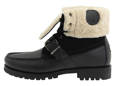 Footwear: Polo Ralph Lauren Ranger Shearling Rolldown Boots