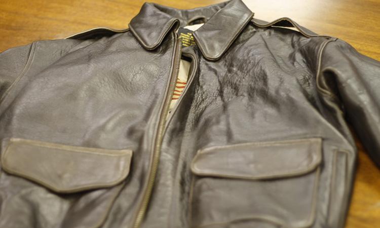 Clothing: Vintage Avirex Type A-2 Lambskin Leather Flight Jacket ...