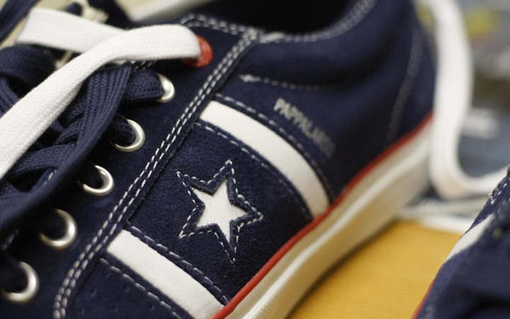 Footwear: Converse Pappal OX (RED)