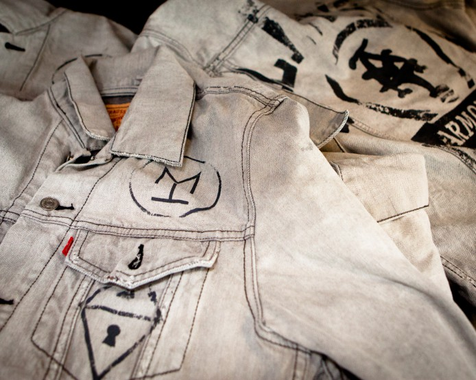 Projects: Levi's x Armoire by Marcus Troy Trucker Jacket