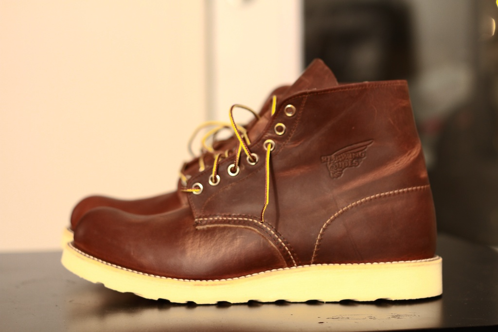 Footwear: Red Wing Boots 6″ Round Toe Copper | Marcus Troy