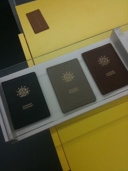 Accessories: Want Les Essentiels De La Vie Leather Passport Covers
