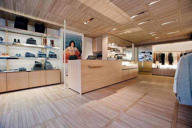 Retail: A.P.C Flagship- NYC