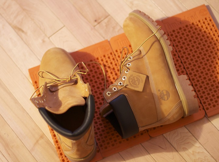Footwear: Timberland 6'' Work Boot Anti-Fatigue Classic- Fall 2011