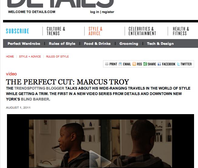 Press: Details Magazine