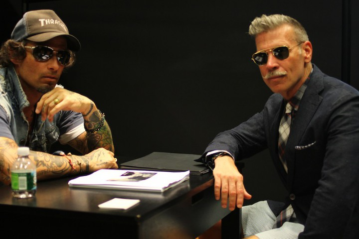 People: Raif & Nick Wooster