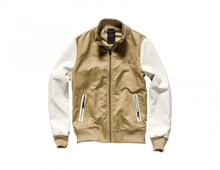 Clothing: G-Star RAW CORRECT LINE BASEBALL KING BOMBER Spring/Summer 2012